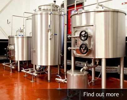 Discover more about our microbrewery services