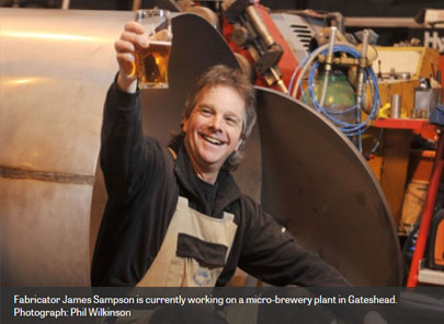 The Scotsman: Welder spots an opportunity in micro-breweries